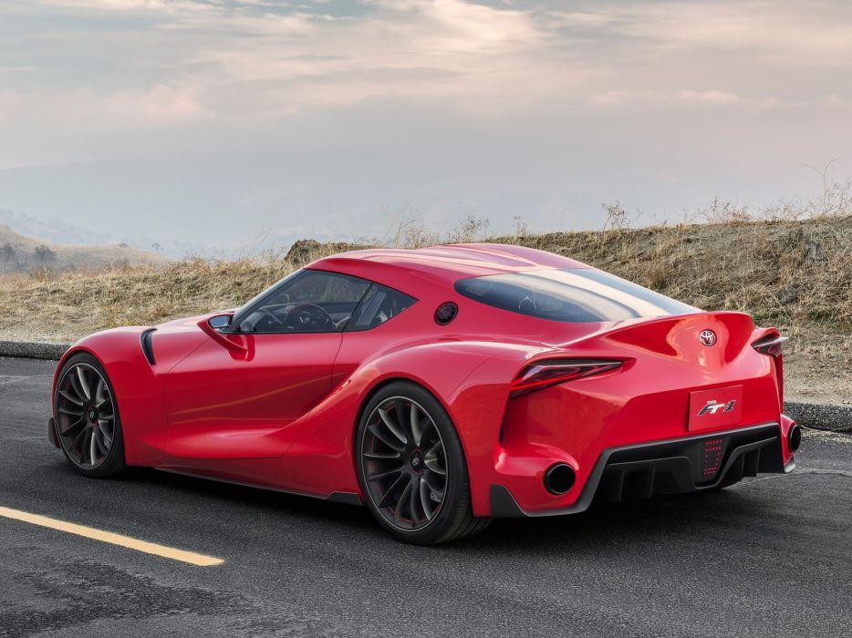 2014 Toyota FT-1 Concept supercar supra  f wallpaper