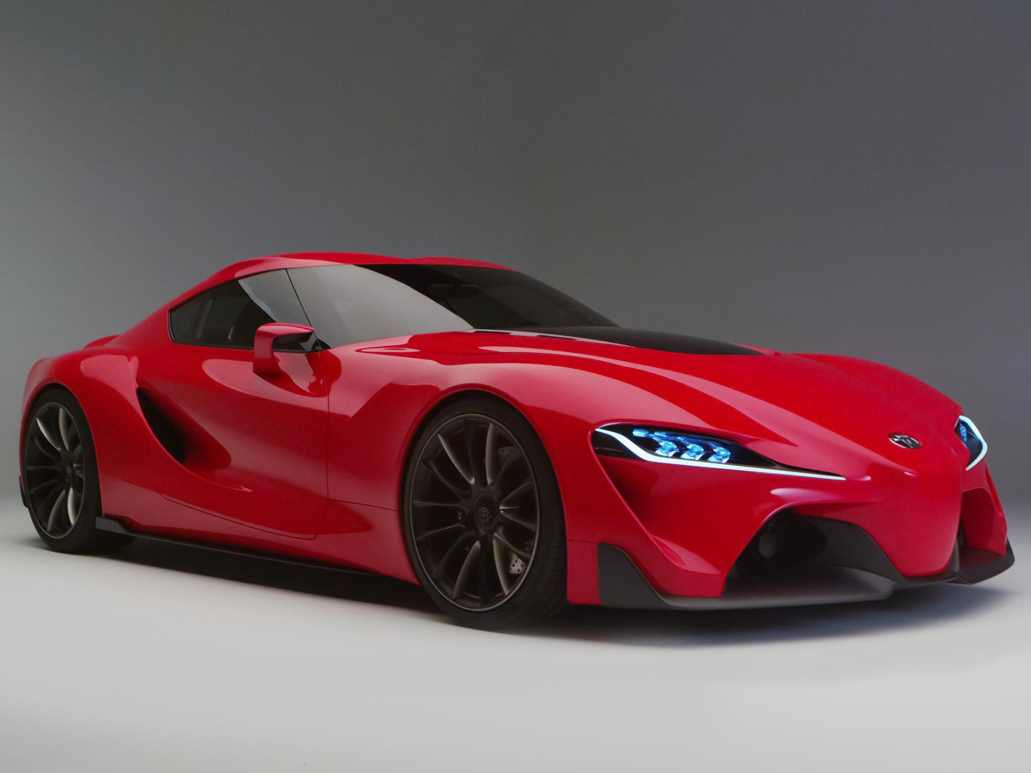 2014 Toyota Ft 1 Concept Supercar Supra D Wallpaper
