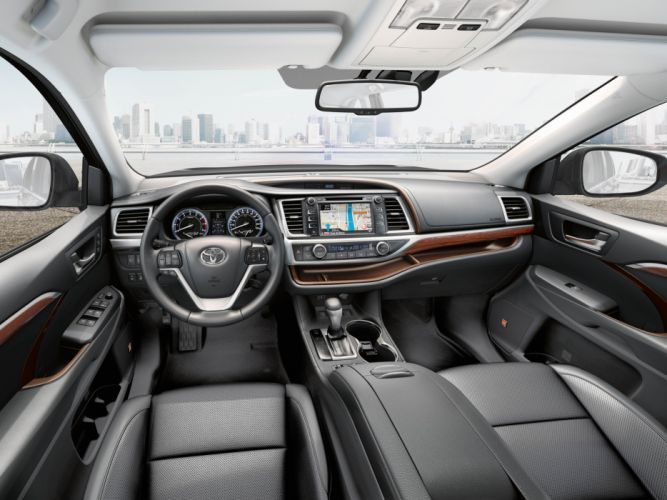 2014 Toyota Highlander CIS-spec suv interior g wallpaper