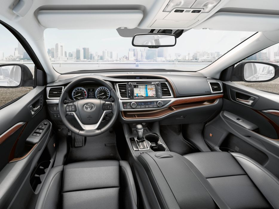 2014 Toyota Highlander Cis Spec Suv Interior G Wallpaper 2048x1536