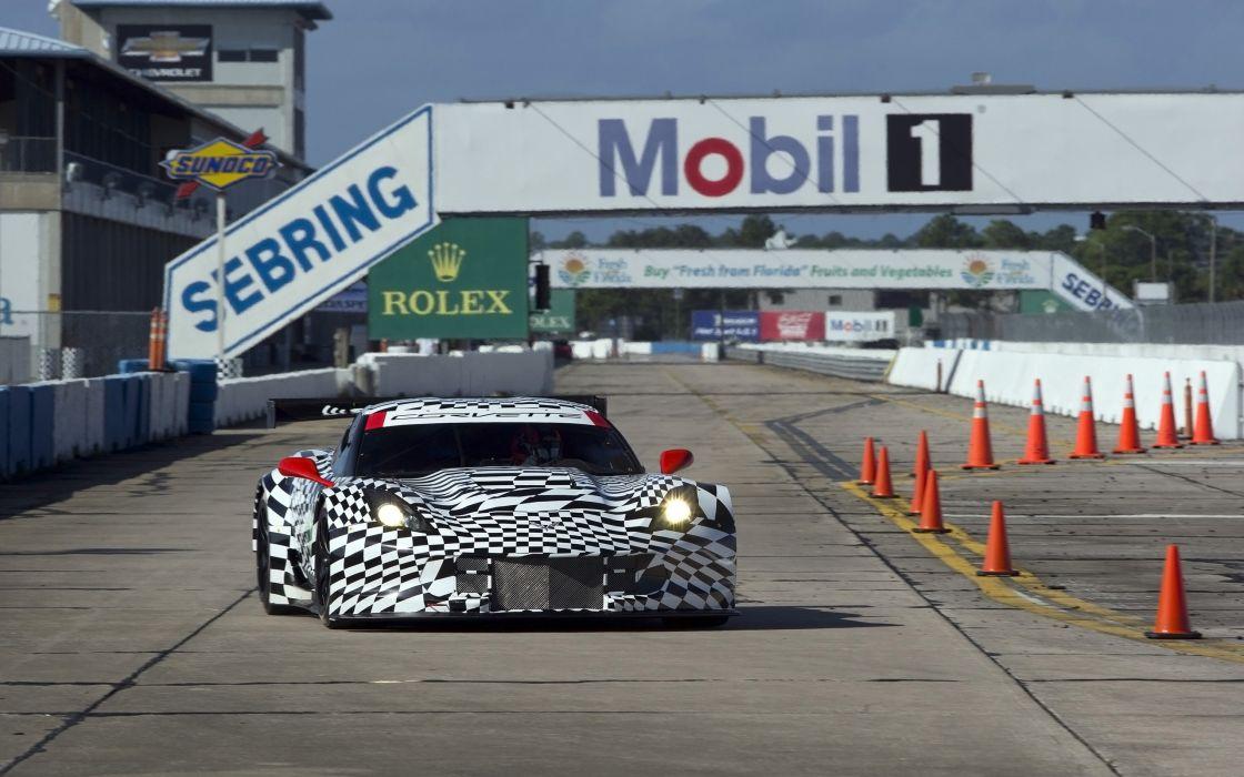 2015 Chevrolet Corvette CR7 GT2 (DA-7) supercar race racing (2) wallpaper