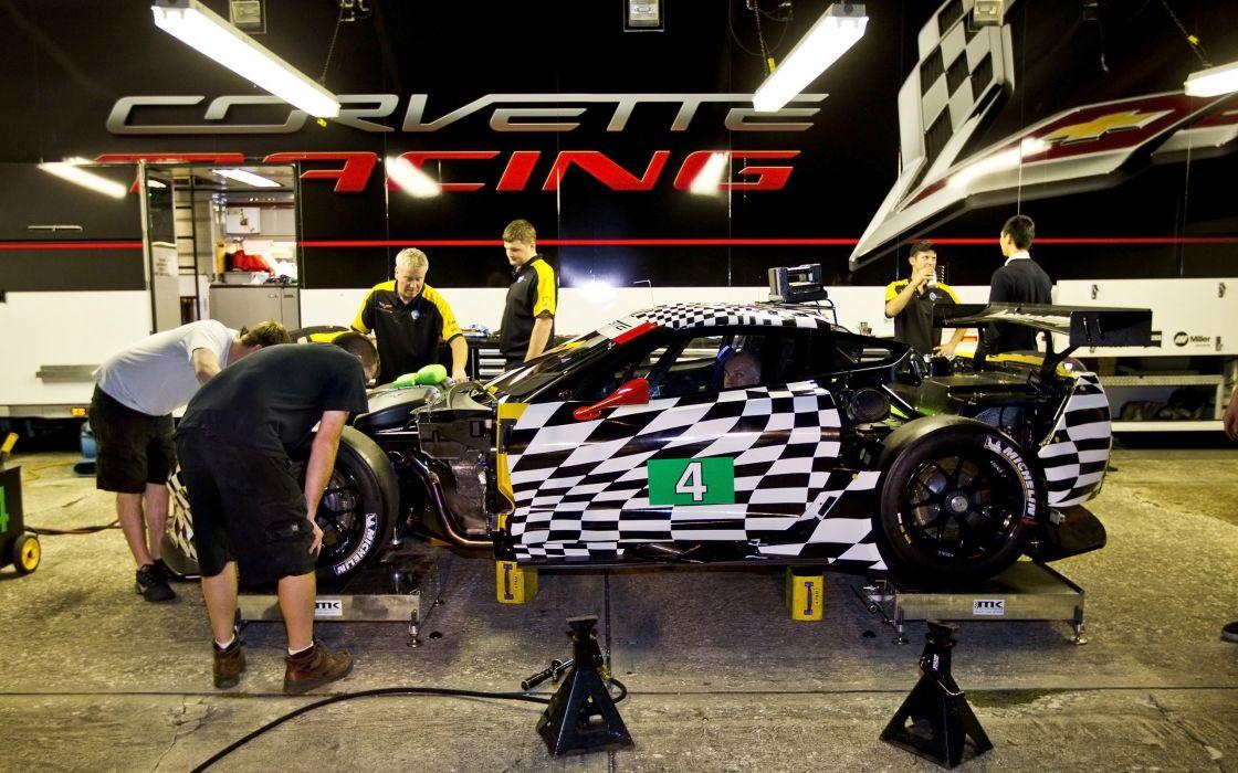 2015 Chevrolet Corvette CR7 GT2 (DA-7) supercar race racing (4) wallpaper