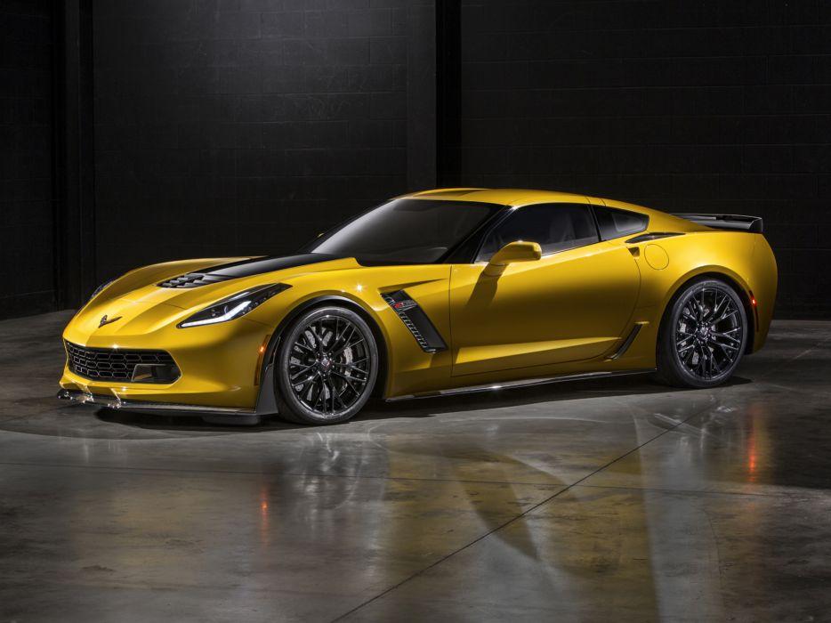 2015 Chevrolet Corvette Stingray Z06 (C-7) supercar muscle (13) wallpaper