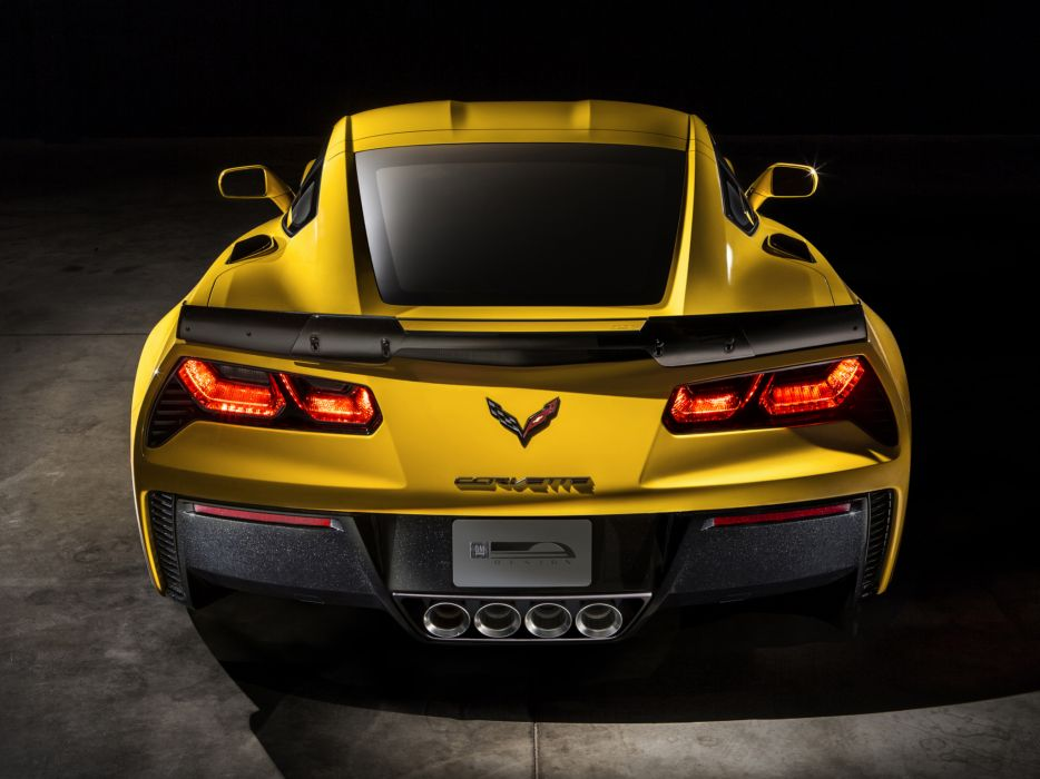 2015 Chevrolet Corvette Stingray Z06 (C-7) supercar muscle (12) wallpaper