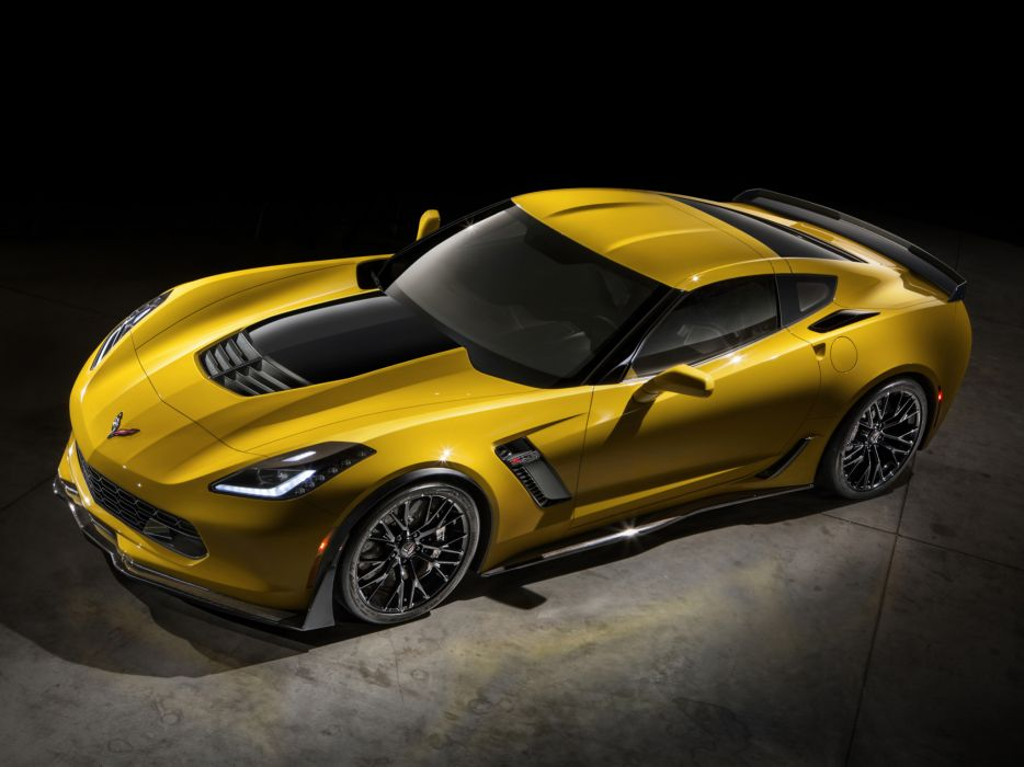 2015 Chevrolet Corvette Stingray Z06 (C-7) supercar muscle (11) wallpaper