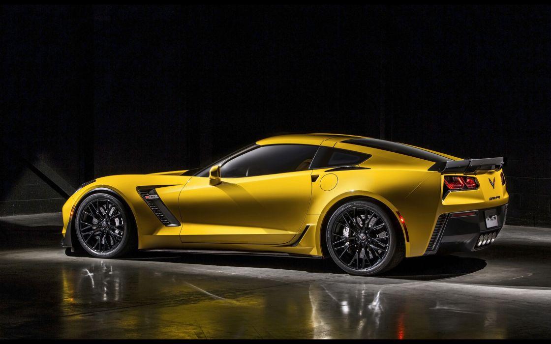 2015 Chevrolet Corvette Stingray Z06 (C-7) supercar muscle m wallpaper