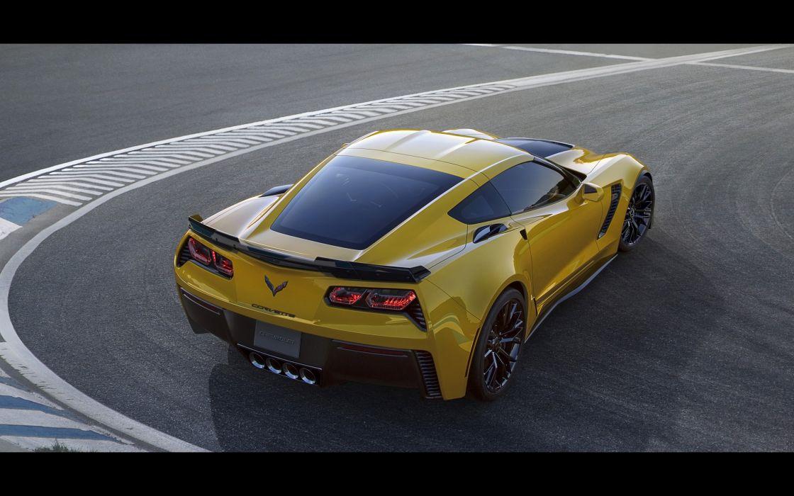 2015 Chevrolet Corvette Stingray Z06 (C-7) supercar muscle   gf wallpaper