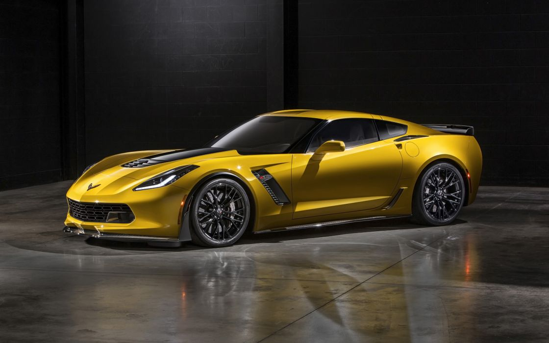 2015 Chevrolet Corvette Stingray Z06 (C-7) supercar muscle  gd wallpaper