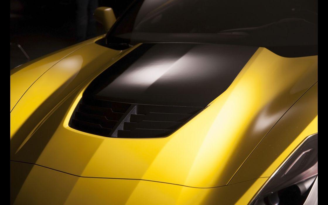 2015 Chevrolet Corvette Stingray Z06 (C-7) supercar muscle  jf wallpaper