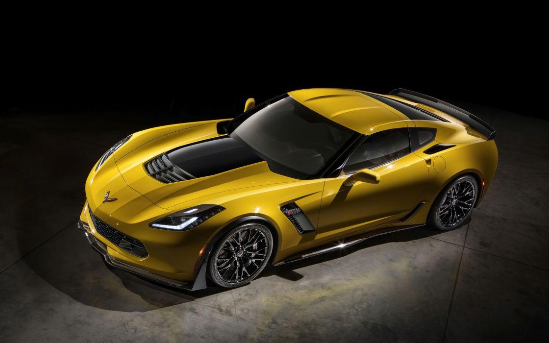 2015 Chevrolet Corvette Stingray Z06 (C-7) supercar muscle g wallpaper
