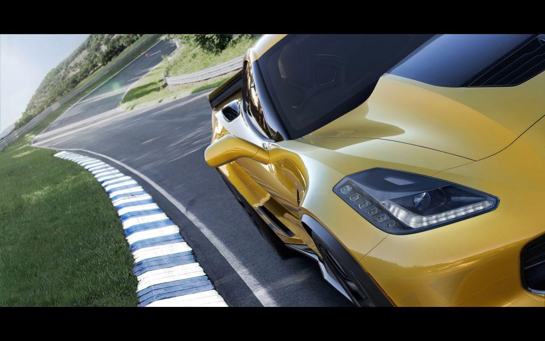 2015 Chevrolet Corvette Stingray Z06 (C-7) supercar muscle gds wallpaper
