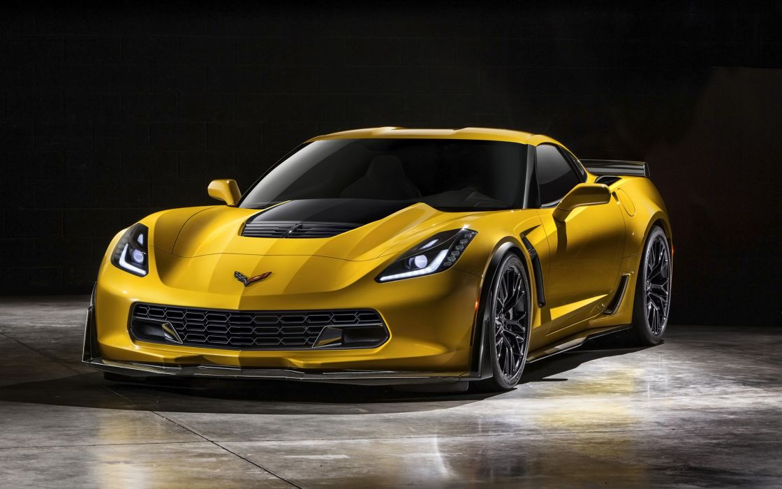 2015 Chevrolet Corvette Stingray Z06 (C-7) supercar muscle h wallpaper