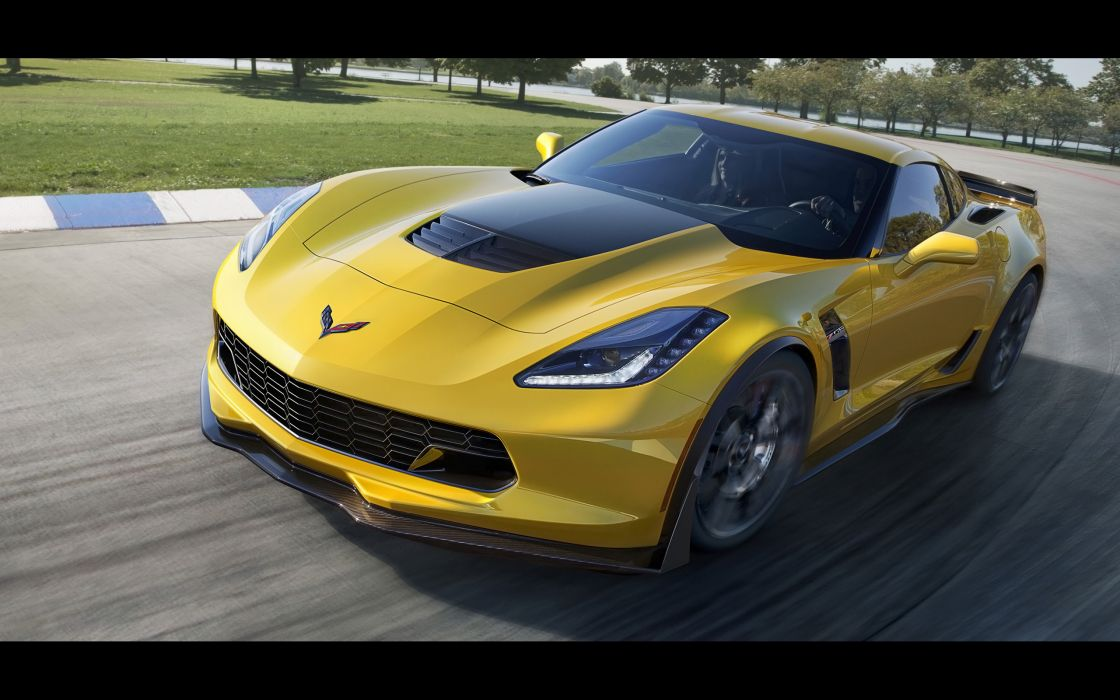 2015 Chevrolet Corvette Stingray Z06 (C-7) supercar muscle hd wallpaper