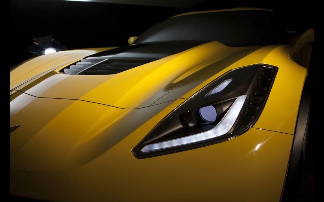 2015 Chevrolet Corvette Stingray Z06 (C-7) supercar muscle k wallpaper