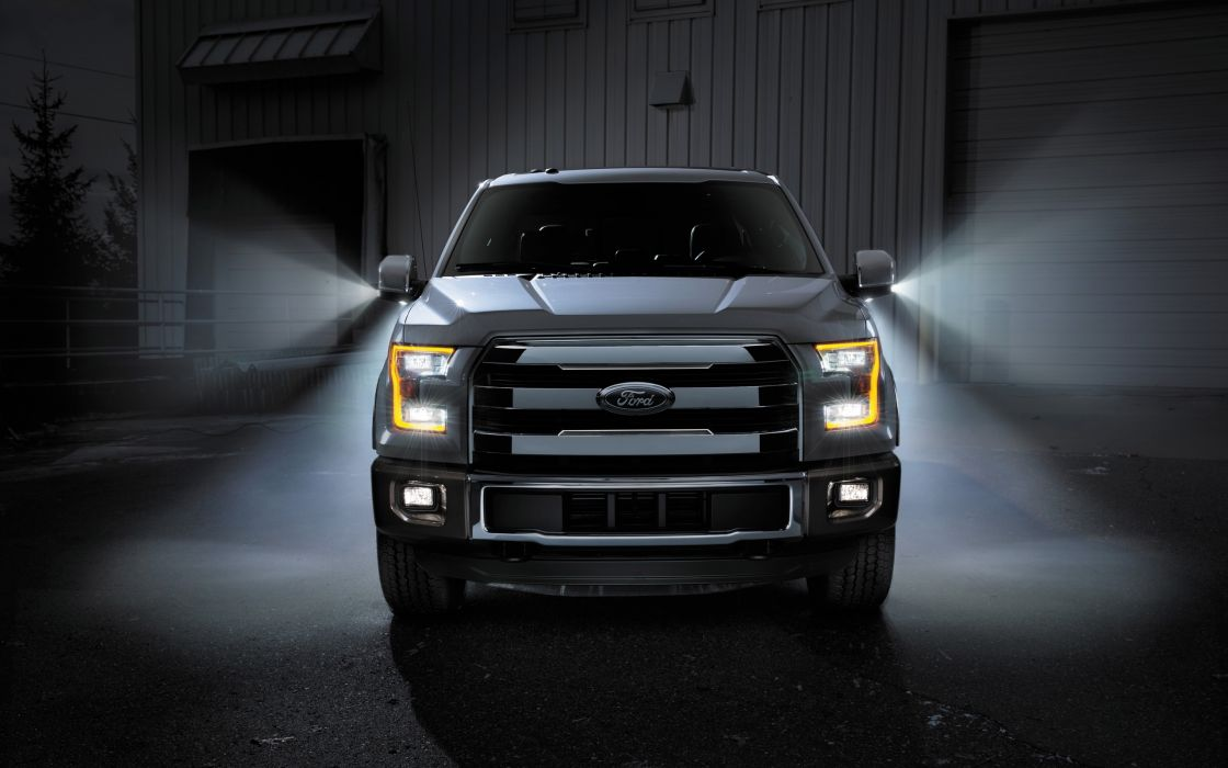 2015 Ford F-150 Platinum pickup  h wallpaper