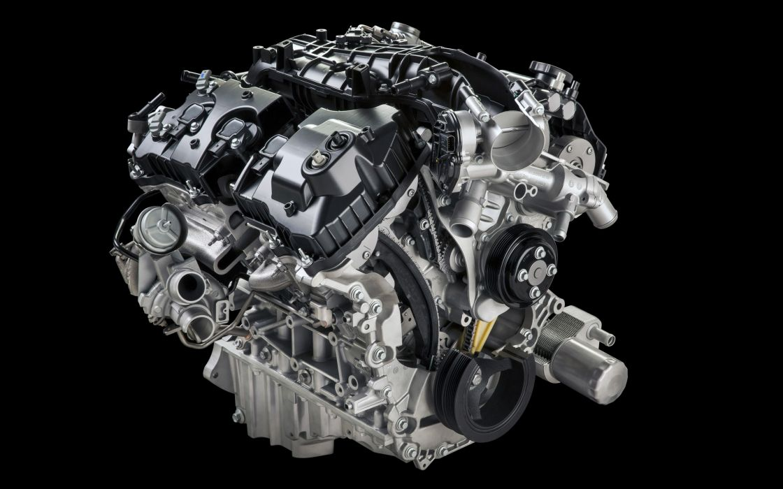 2015 Ford F-150 Platinum pickup engine  g wallpaper