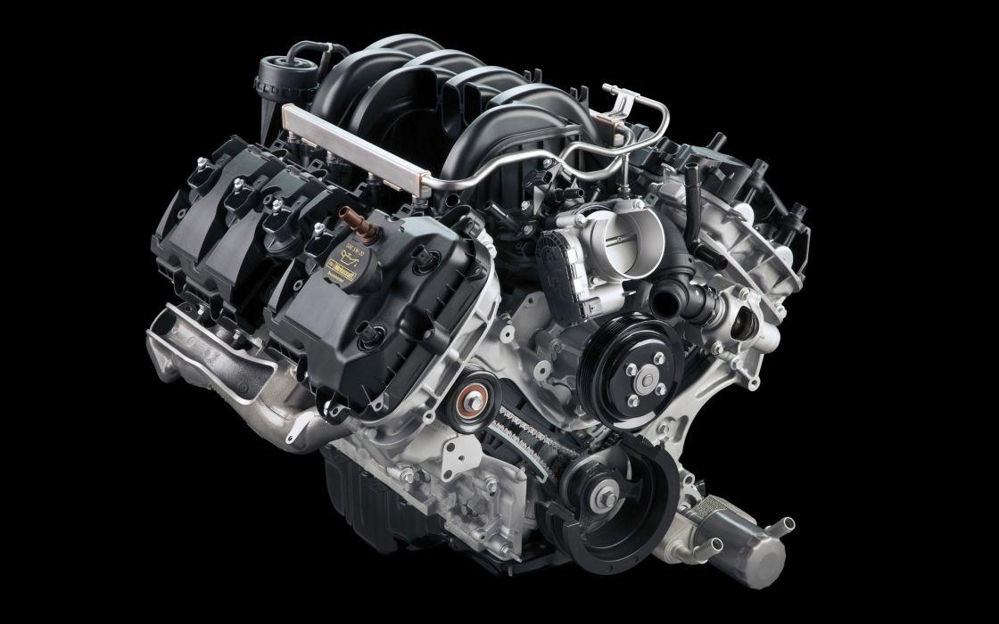 2015 Ford F-150 Platinum pickup engine     g wallpaper
