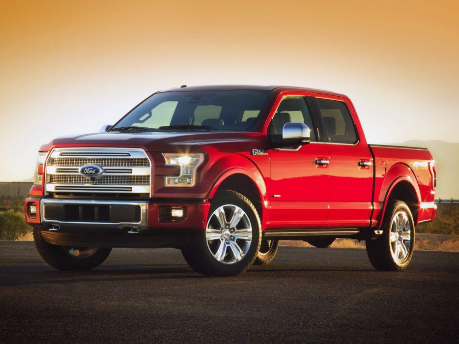 2015 Ford F-150 Platinum pickup (10) wallpaper