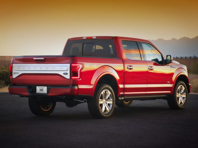 2015 Ford F-150 Platinum pickup (6) wallpaper