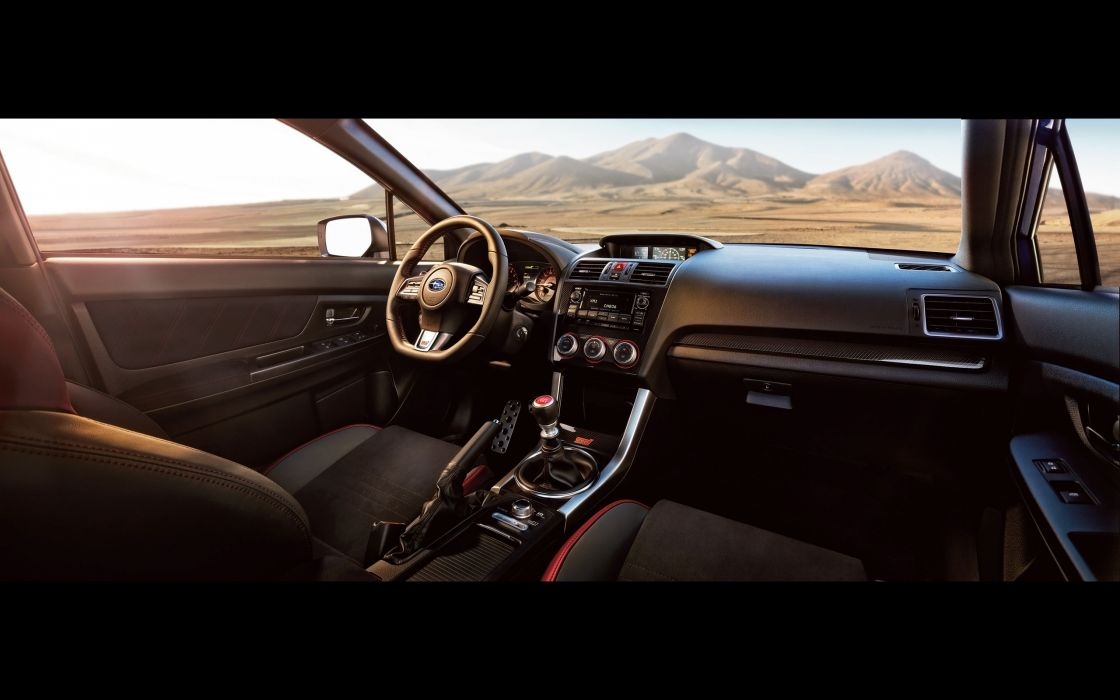 2015 Subaru WRX STi engine interior   f wallpaper