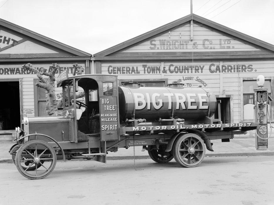 Thornycroft retro pickup tanker     f wallpaper