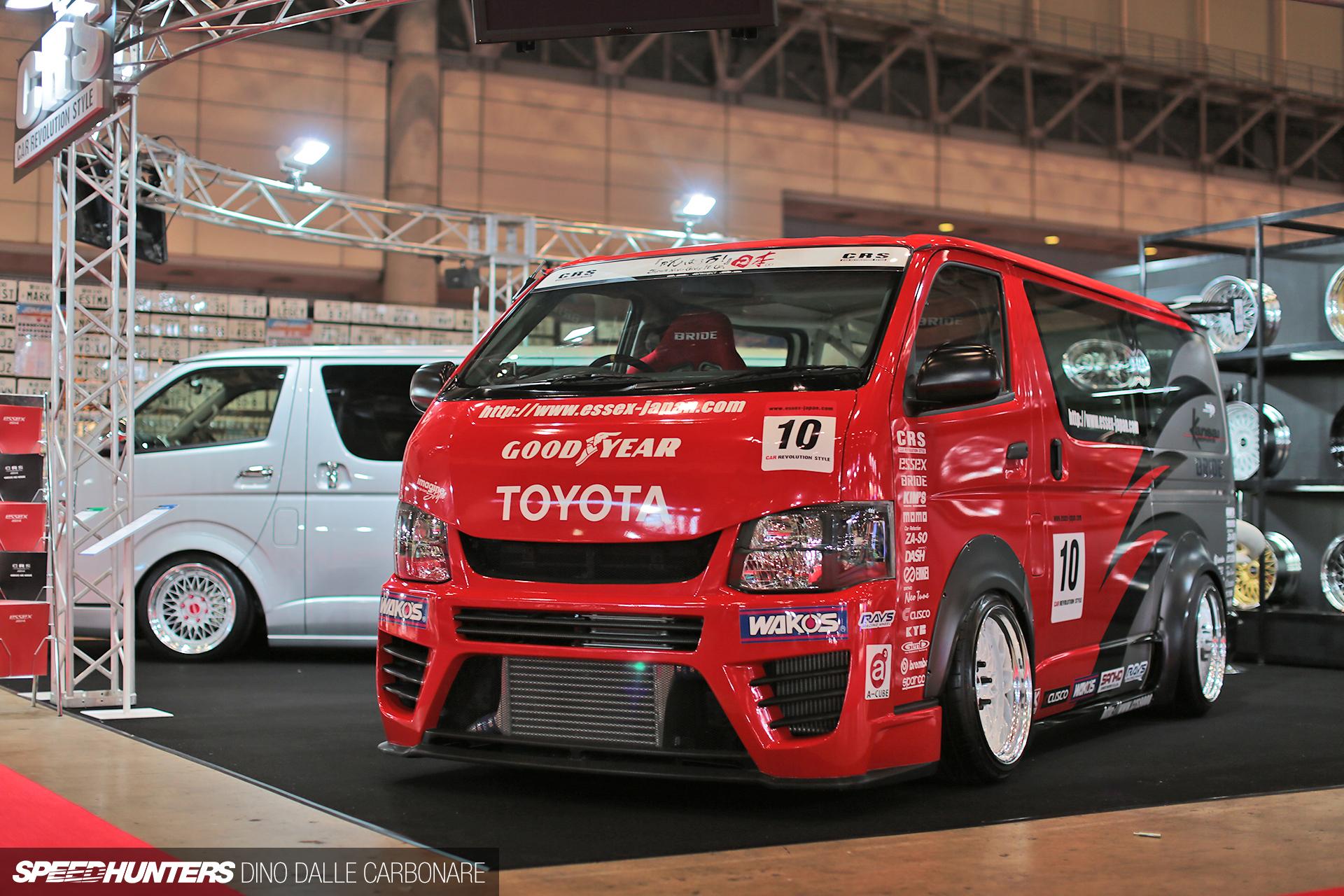 Tuning Toyota Hi Ace Van F Wallpaper 1920x1280 231233