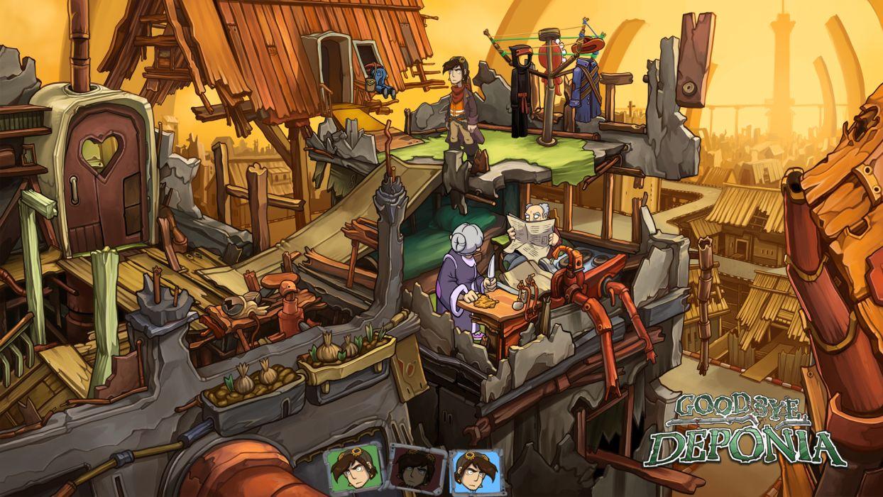 DEPONIA romance fantasy adventure sci-fi (1) wallpaper