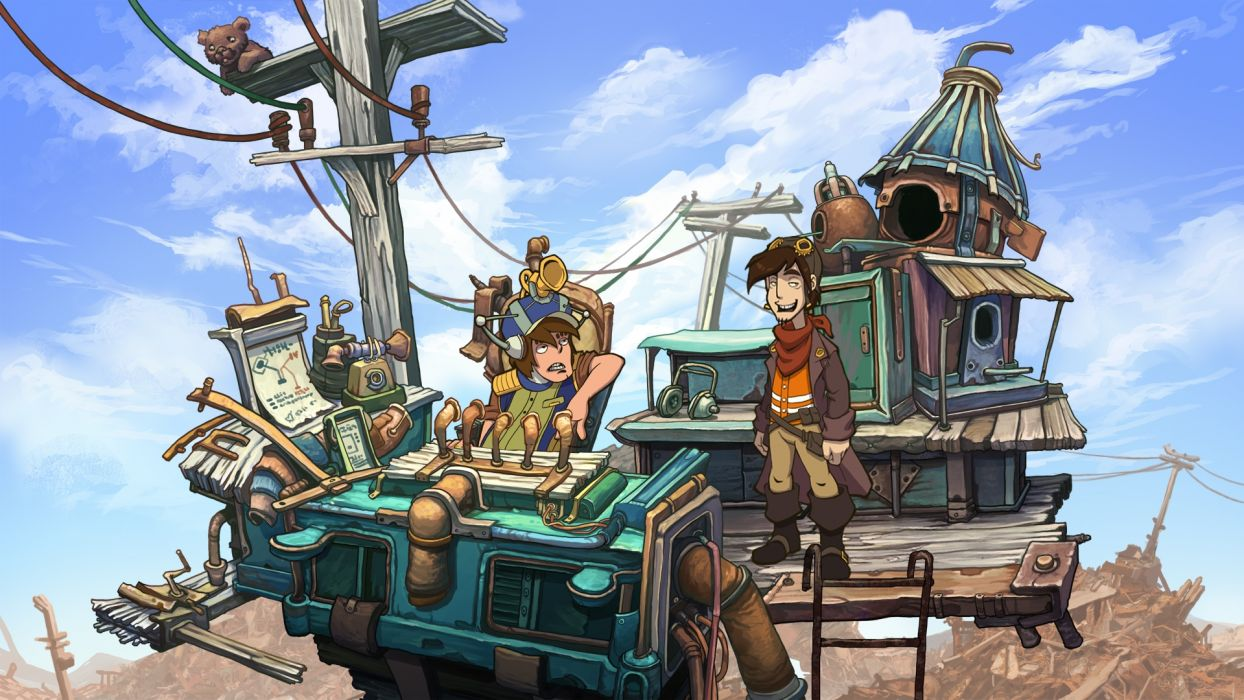 DEPONIA romance fantasy adventure sci-fi (2) wallpaper