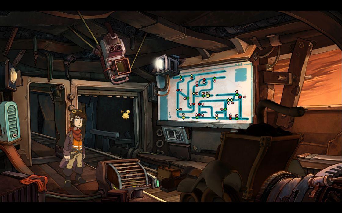 DEPONIA romance fantasy adventure sci-fi (5) wallpaper