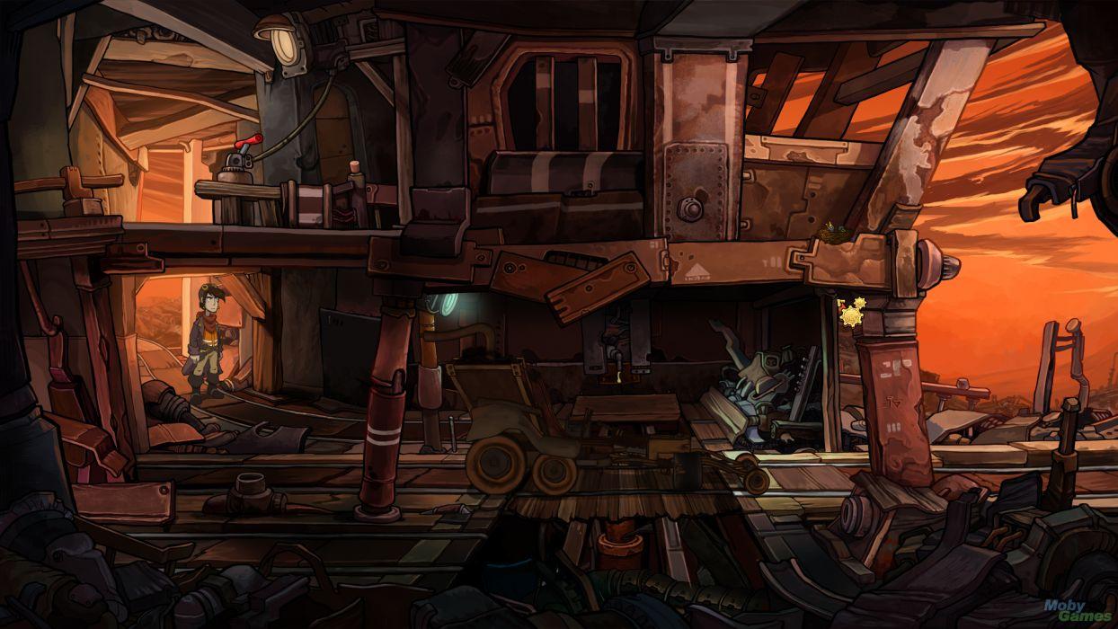 DEPONIA romance fantasy adventure sci-fi (7) wallpaper