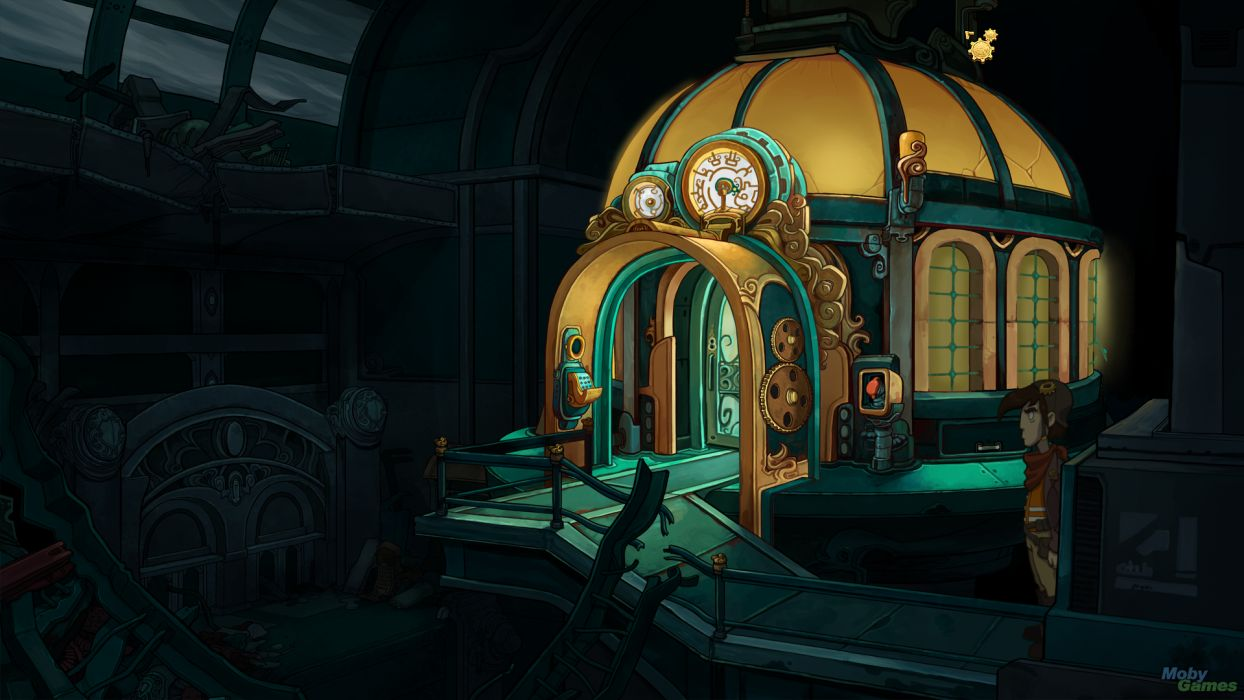 DEPONIA romance fantasy adventure sci-fi (6) wallpaper