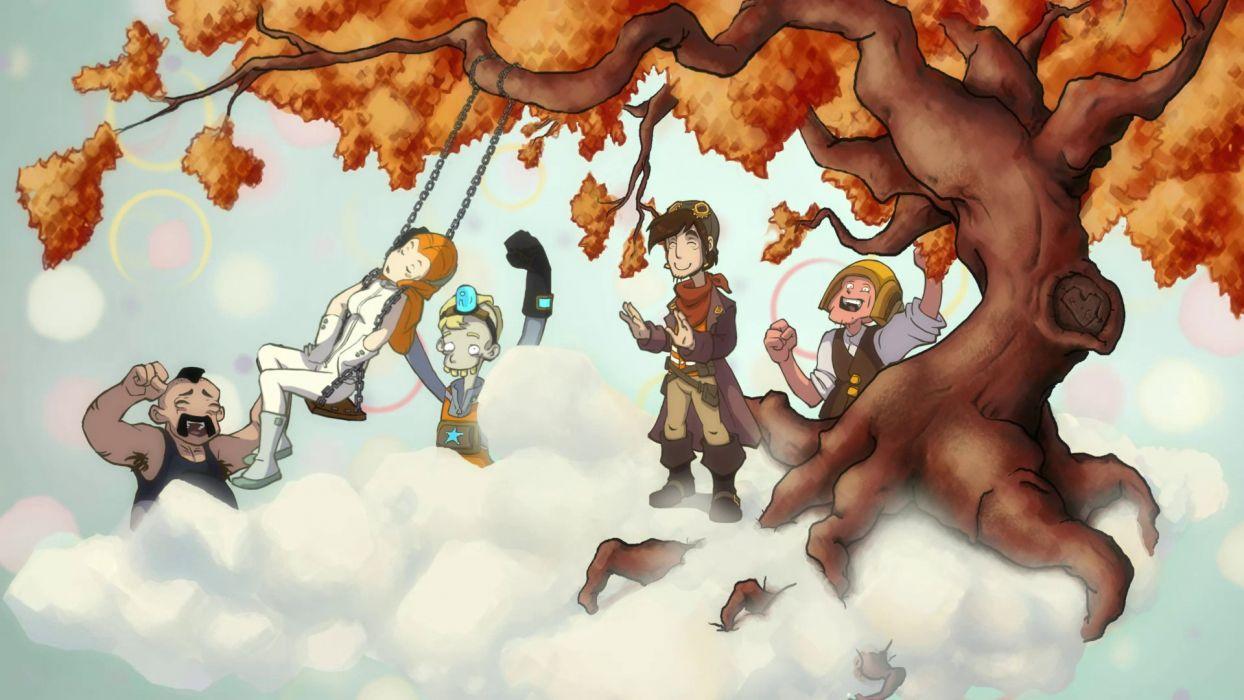 DEPONIA romance fantasy adventure sci-fi (10) wallpaper