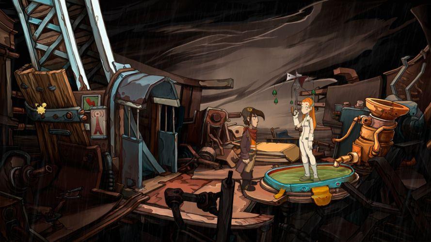 DEPONIA romance fantasy adventure sci-fi (43) wallpaper