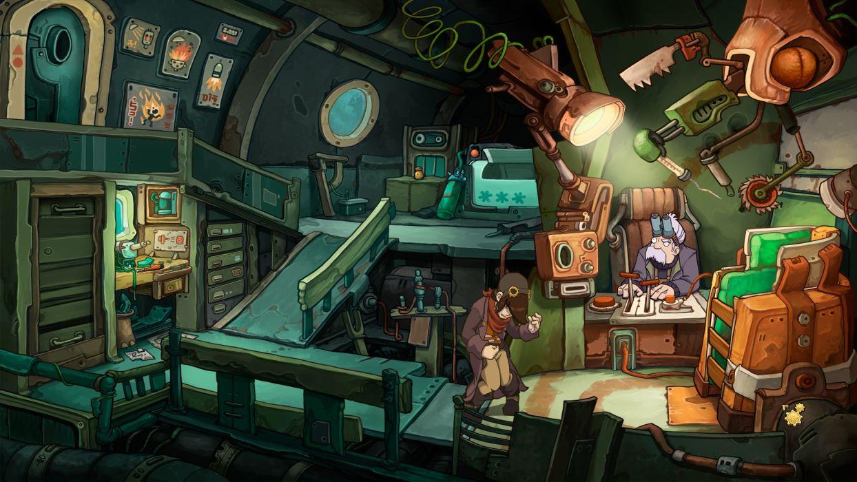 DEPONIA romance fantasy adventure sci-fi (45) wallpaper