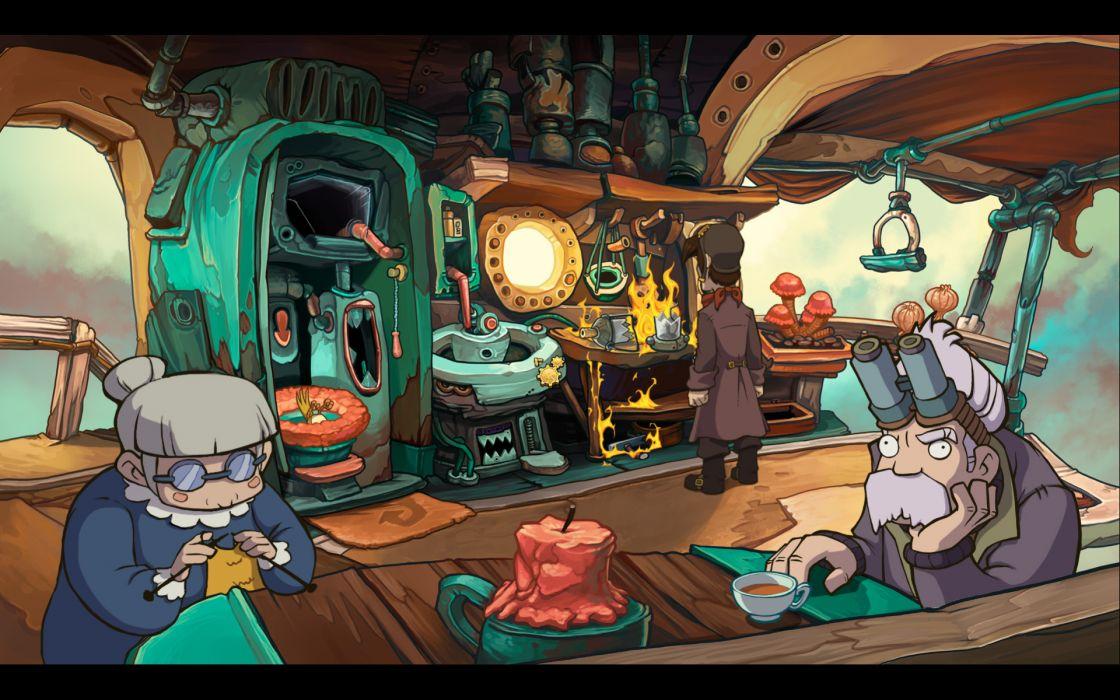 DEPONIA romance fantasy adventure sci-fi (47) wallpaper