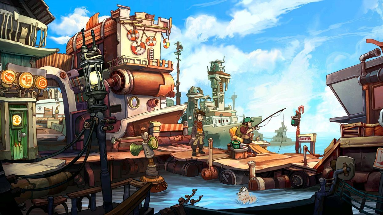 DEPONIA romance fantasy adventure sci-fi (50) wallpaper