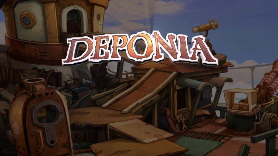 DEPONIA romance fantasy adventure sci-fi (53) wallpaper