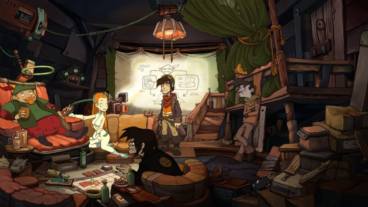 DEPONIA romance fantasy adventure sci-fi (57) wallpaper