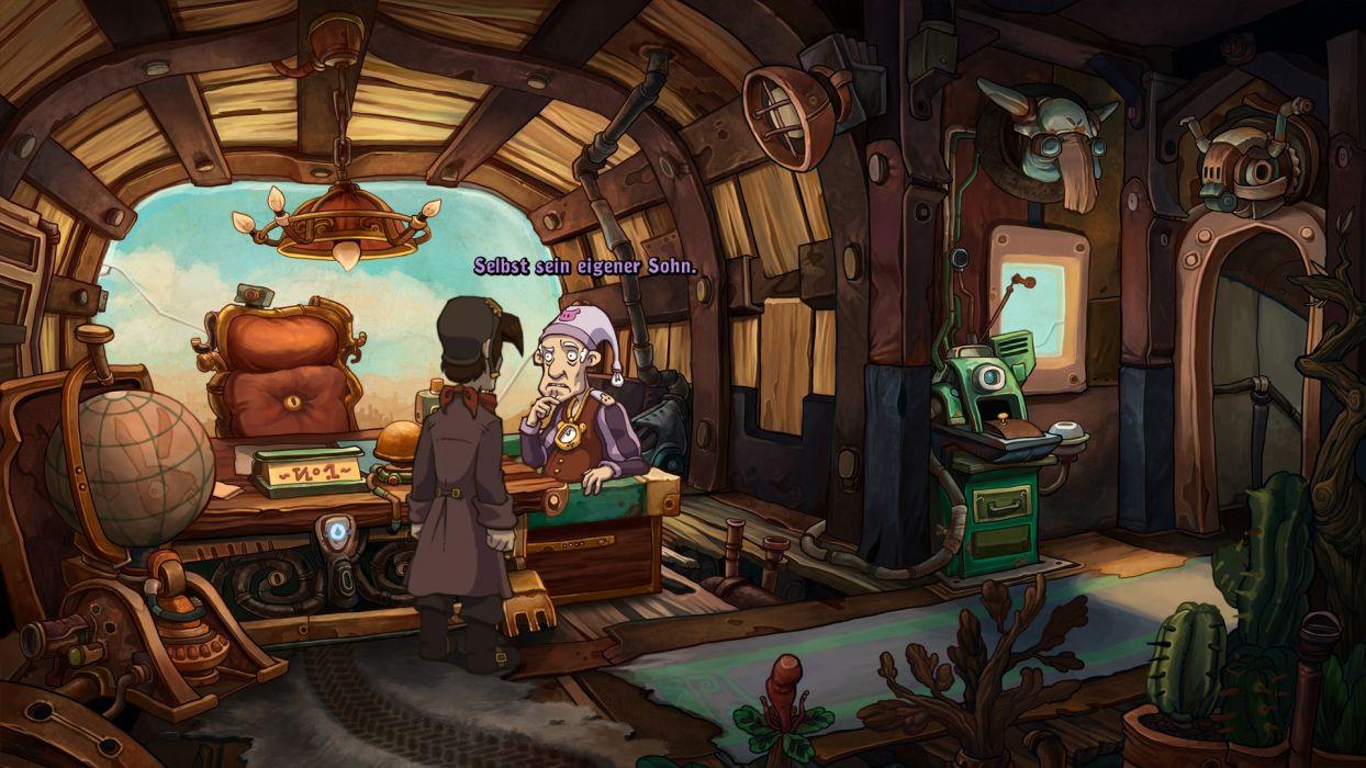 DEPONIA romance fantasy adventure sci-fi (62) wallpaper