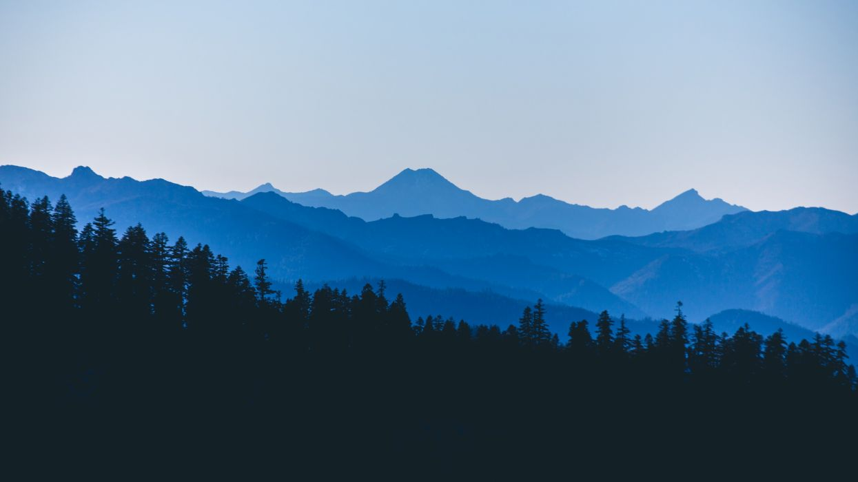 nature mountain forest landscape fog lake ultrahd 4k wallpaper wallpaper