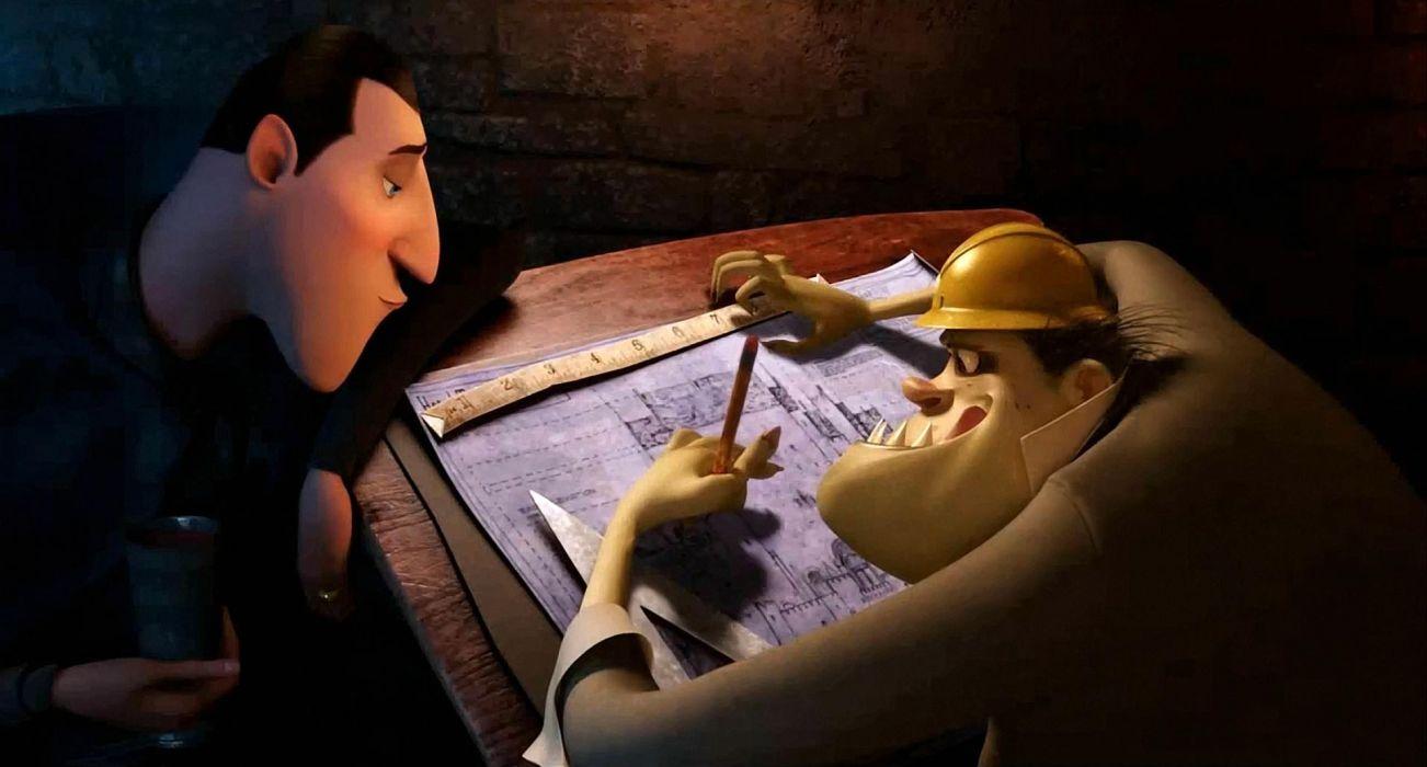 HOTEL TRANSYLVANIA animated fantasy comedy dark halloween monster (4) wallpaper