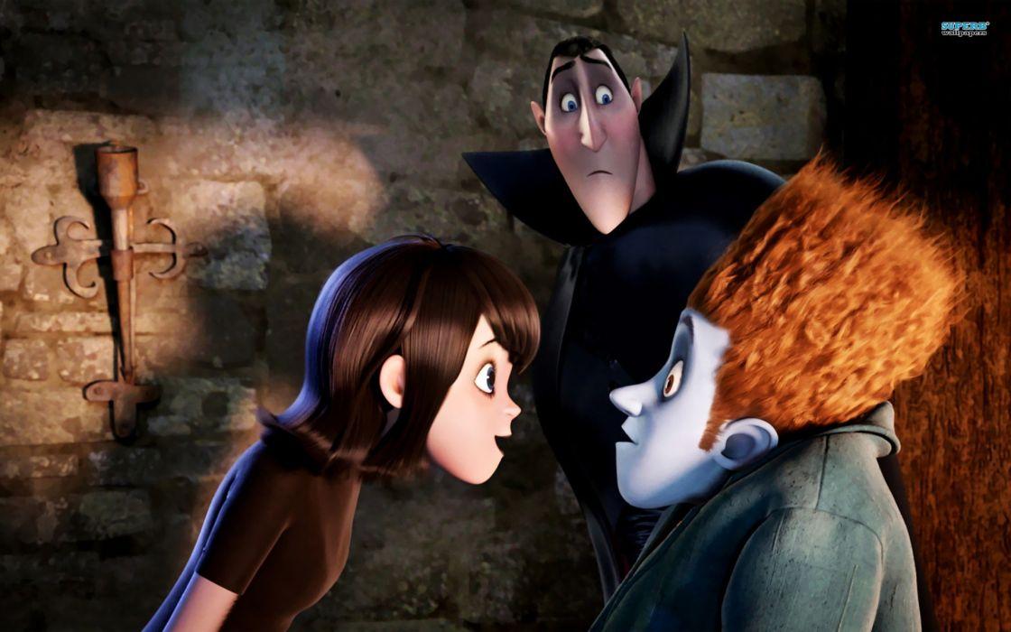 HOTEL TRANSYLVANIA animated fantasy comedy dark halloween monster (8) wallpaper