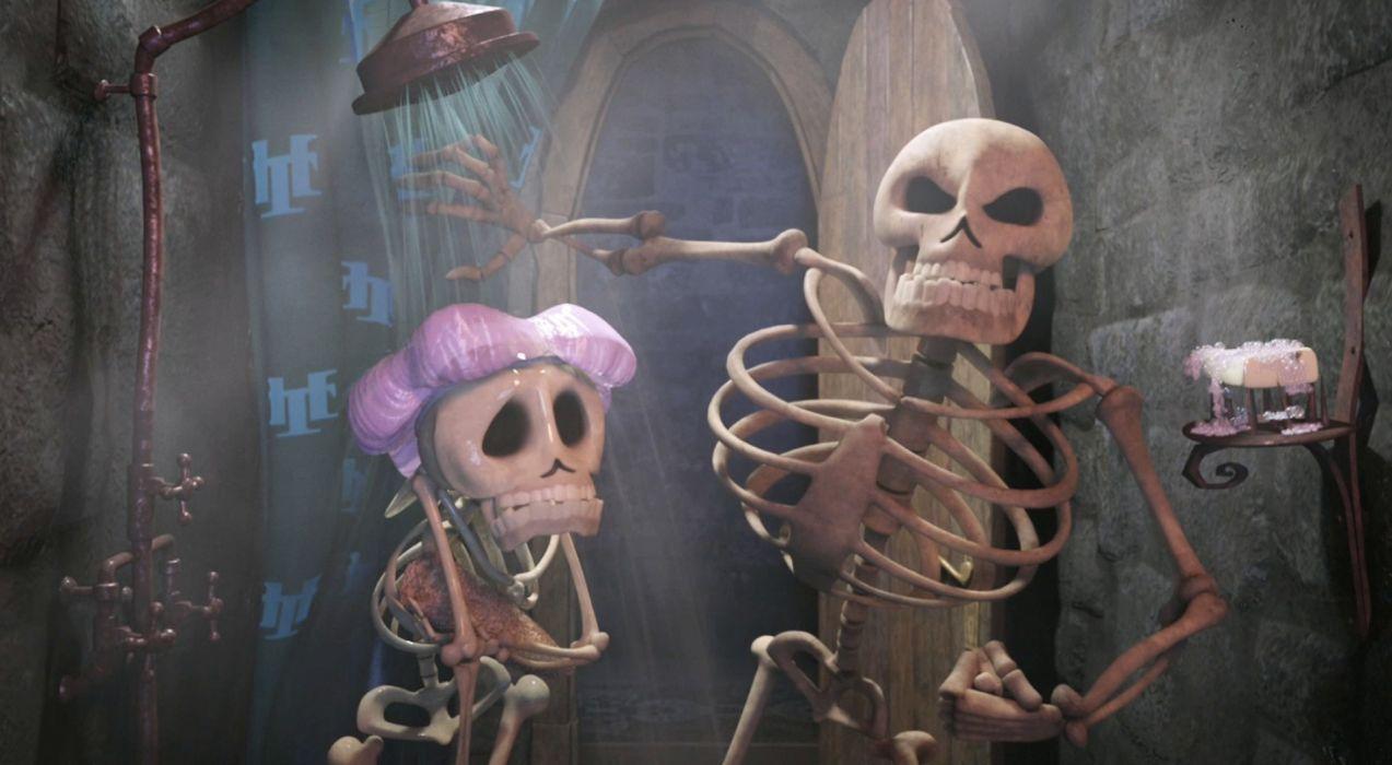 HOTEL TRANSYLVANIA animated fantasy comedy dark halloween monster (19) wallpaper