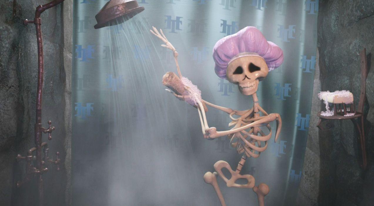 HOTEL TRANSYLVANIA animated fantasy comedy dark halloween monster (20) wallpaper