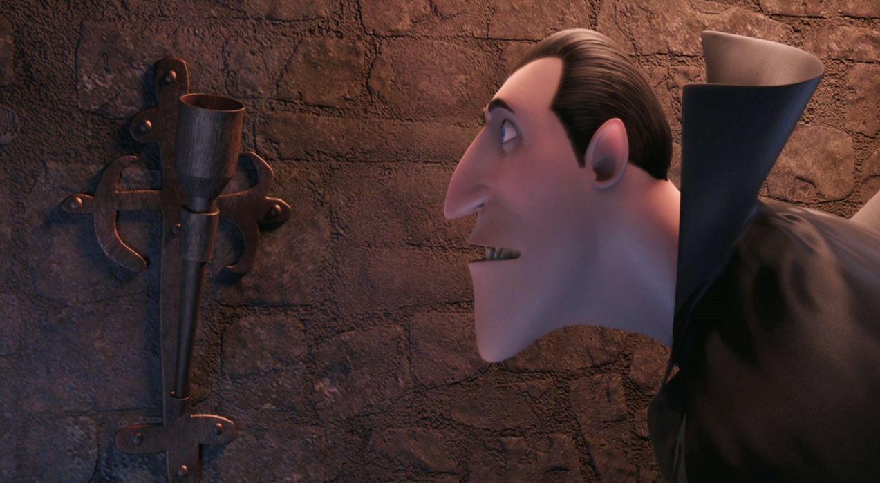 HOTEL TRANSYLVANIA animated fantasy comedy dark halloween monster (22) wallpaper