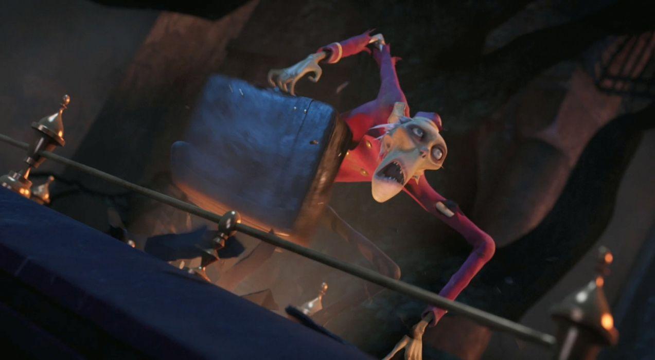 HOTEL TRANSYLVANIA animated fantasy comedy dark halloween monster (23) wallpaper