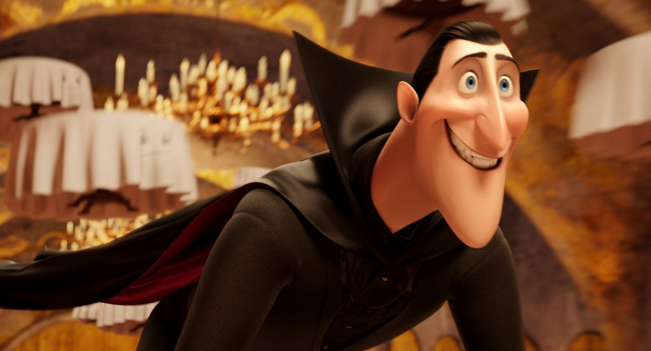 HOTEL TRANSYLVANIA animated fantasy comedy dark halloween monster (32) wallpaper