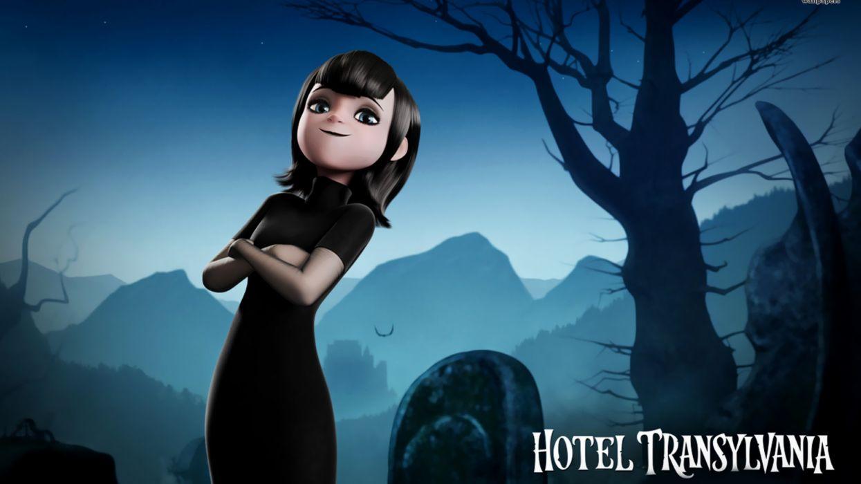 HOTEL TRANSYLVANIA animated fantasy comedy dark halloween monster (35) wallpaper