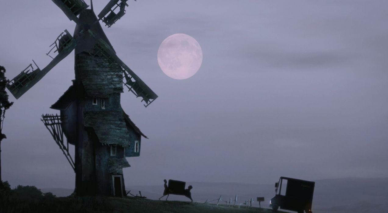 HOTEL TRANSYLVANIA animated fantasy comedy dark halloween monster (44) wallpaper