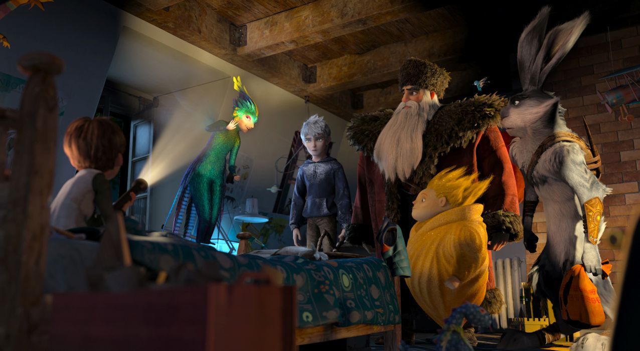 RISE OF THE GUARDIANS animation adventure family (10) wallpaper